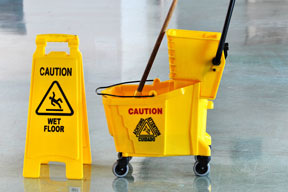 janitor mop and bucket